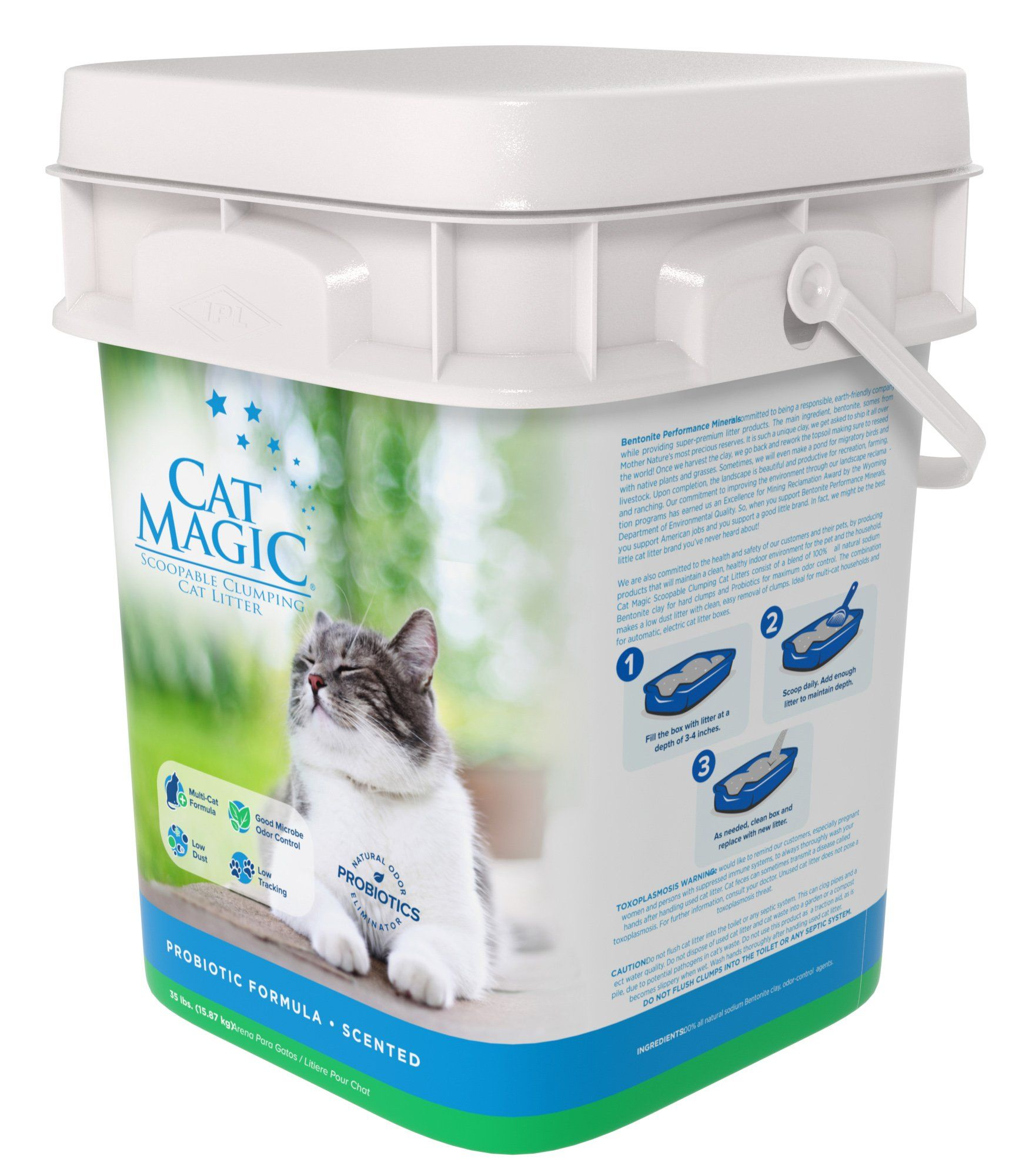 Cat Magic Scented Clumping Clay Cat Litter 35pound You Can Get More Details By Clicking On The Image This Is Clay Cat Litter Cat Litter Cat Pet Supplies