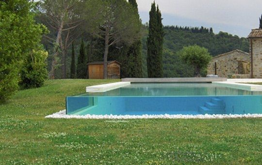 Piscina vetro temperato big blu home nel 2019 outdoor swimming pool swimming pools e pool - Piccole piscine in casa ...