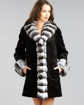 Black mink coat price