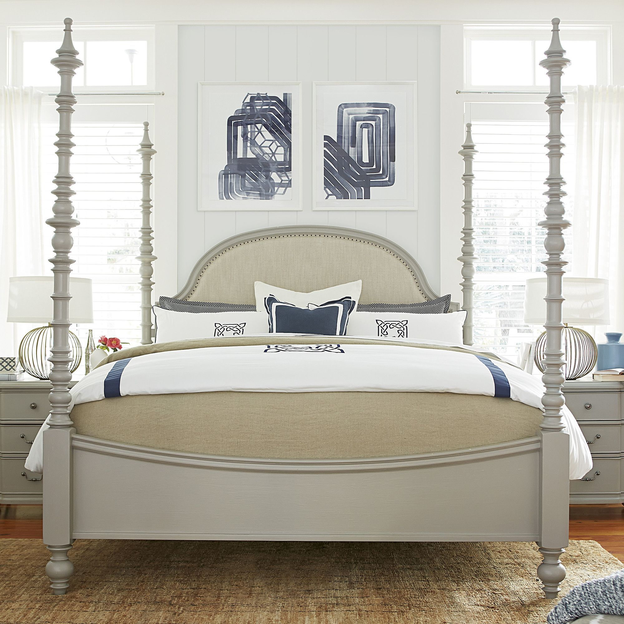 Pleasing House Joss Joss Main Bedding Joss Main Helena Four Poster Bed Master Bedroom Main Nautical Bedding houzz-02 Joss And Main Bedding
