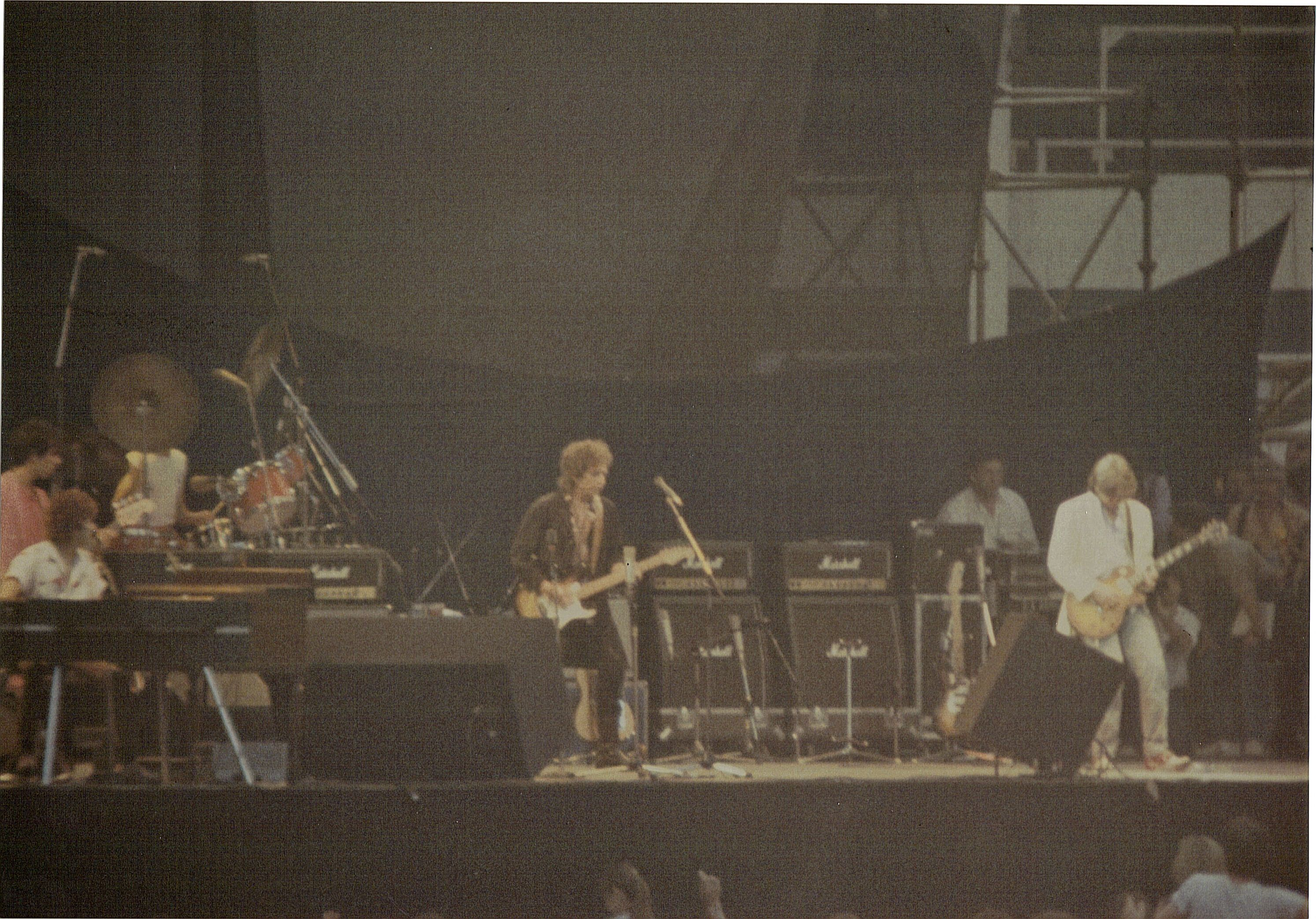 Bob Dylan and the Rolling Thunder Revue 1983 at Wembley