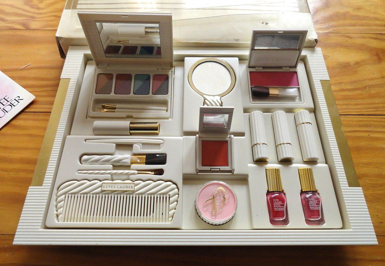 Estee Lauder Color Dynamics Makeup Kit 1988 Vintage Cosmetics