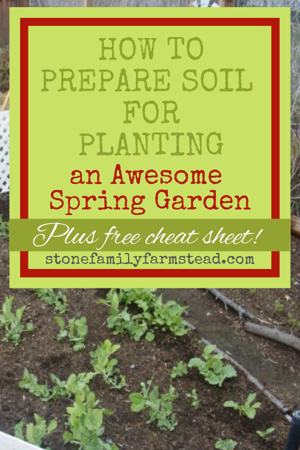 How To Prepare Soil For Planting An Awesome Spring Garden