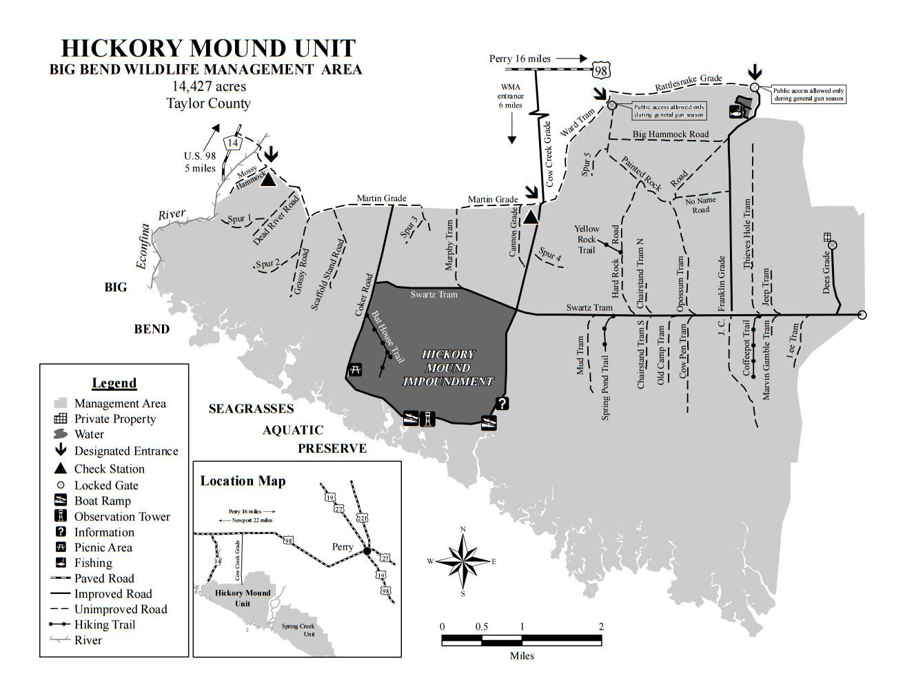 Hickory Mound Unit - Big Bend Wildlife Management Area ...