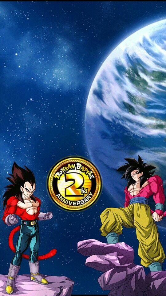 Goku And Vegeta Ssj4 Dokkan Battle 2nd Anniversary