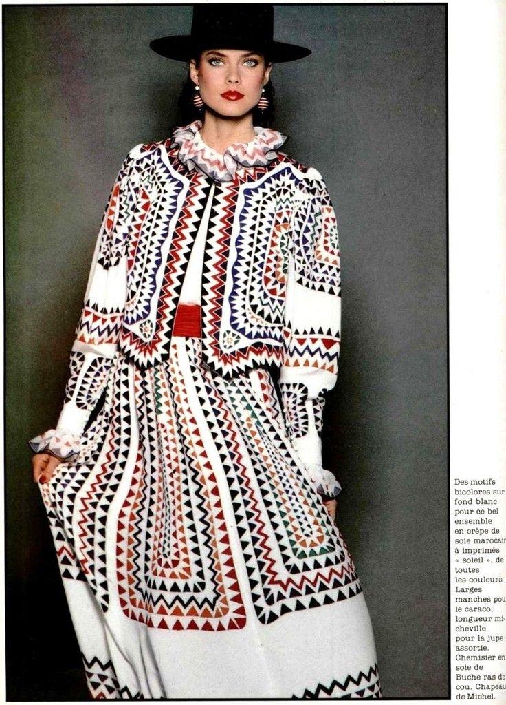 Louis Feraud 1980s | Модели, Мода и Фотосессия