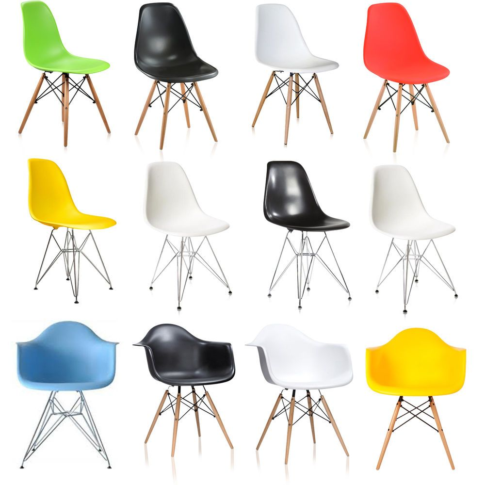 Eames Chair DSW DSR DAW DAR Rocking Armchair Lounge Dining Eiffel Chairs  Replica