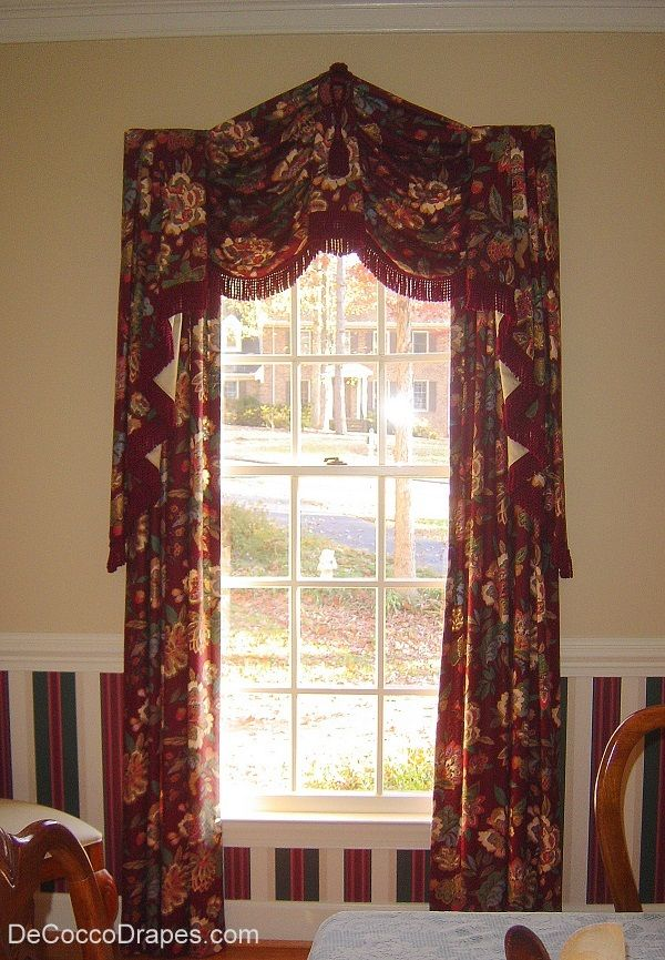Swag Jabot Dining Room Curtains Gail Healy Its
