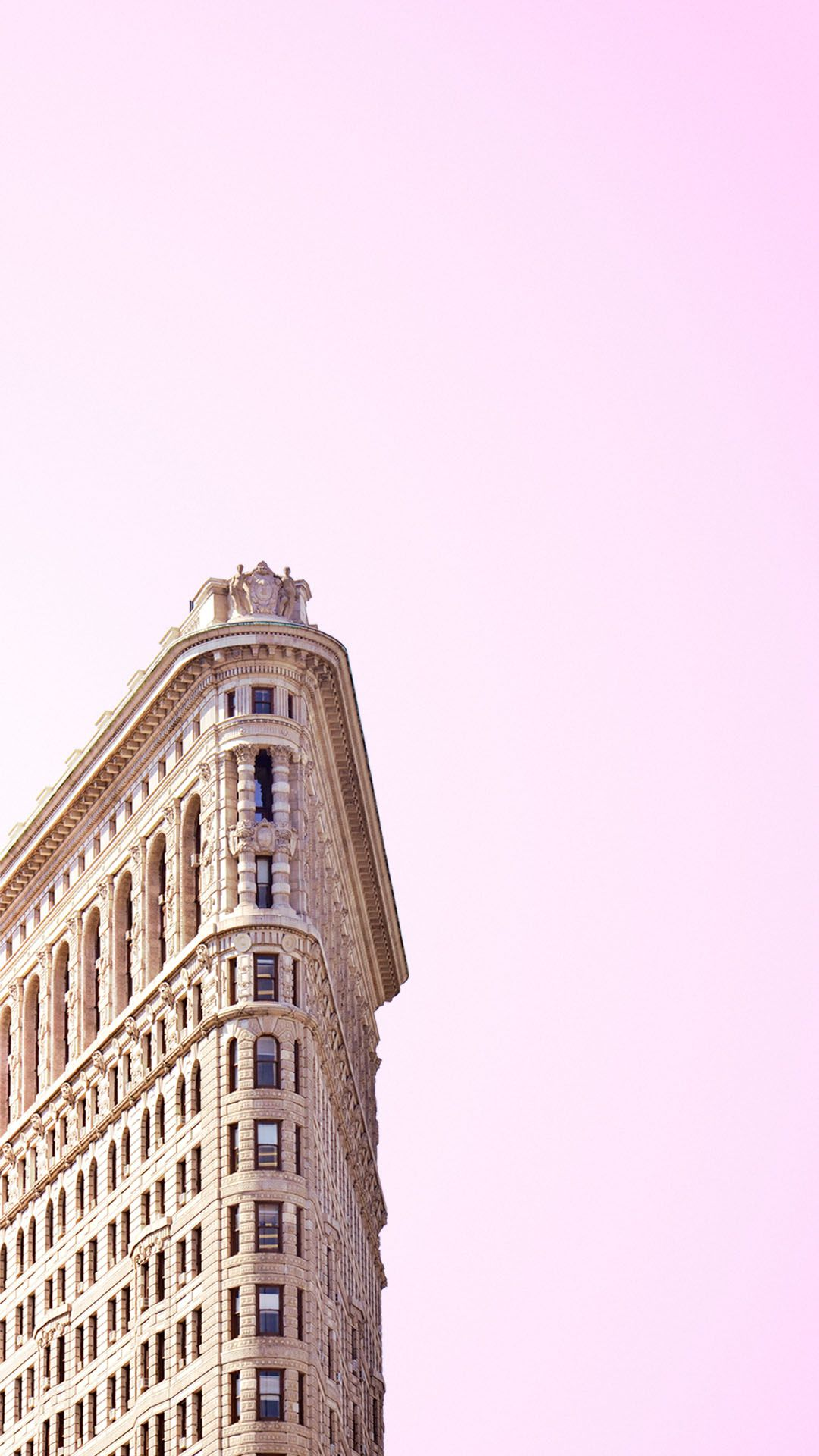 New York Wallpaper Pastel For Your Phone Screen