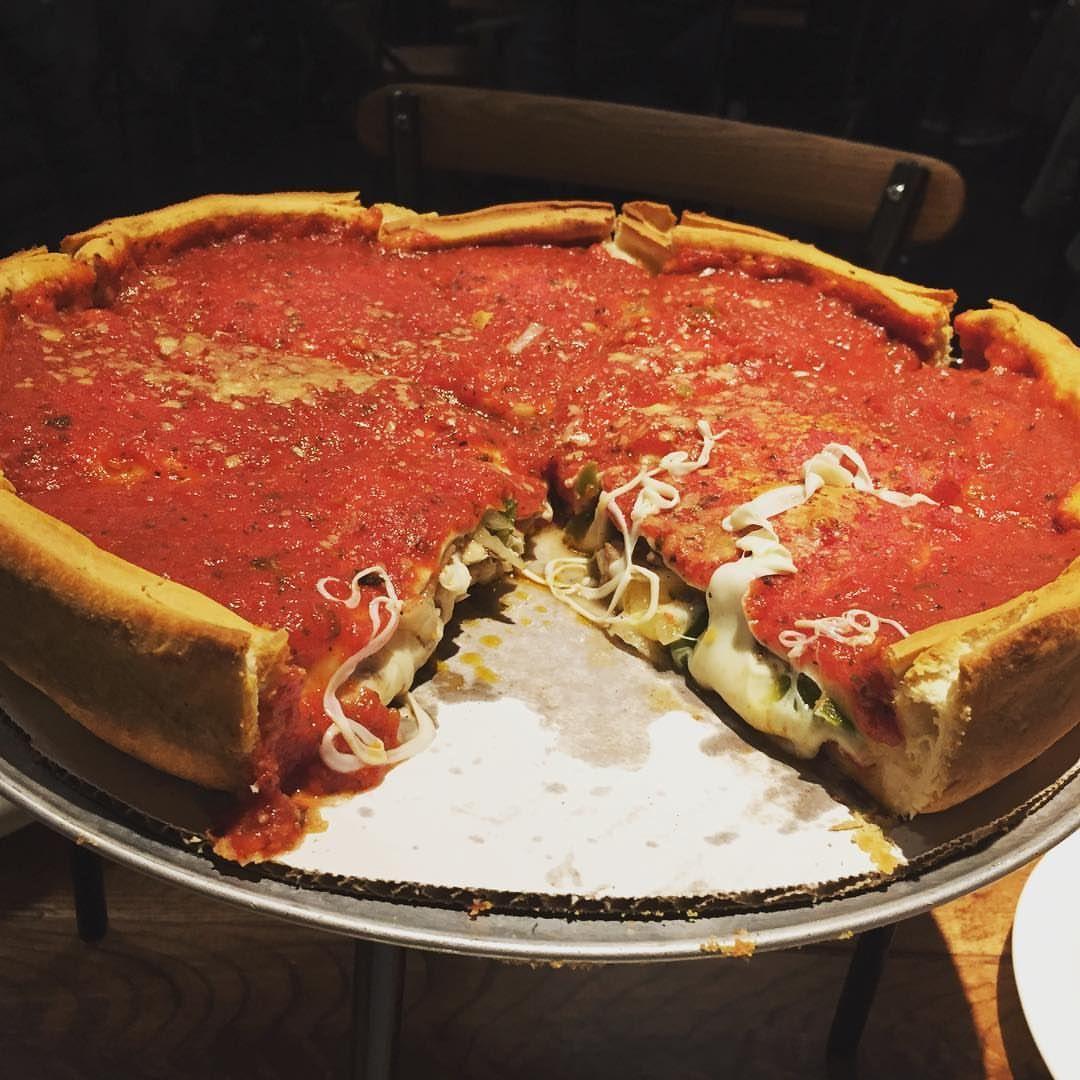 Giordano S Chicago Deep Dish Pizza 1080x1080 Foodporn Food
