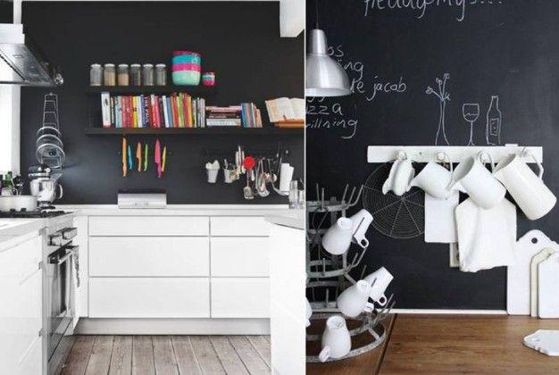 Pareti Di Lavagna : Trasformare le pareti di casa in una grande lavagna magazine