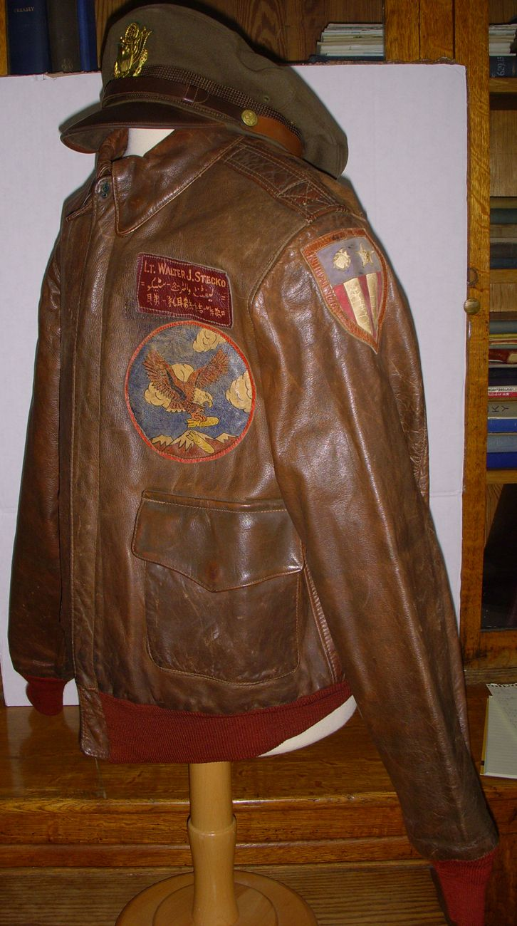 Bill Kelso Mfg Vintage Military Jacket Bomber Jacket Vintage Wwii Bomber Jacket [ 1300 x 726 Pixel ]