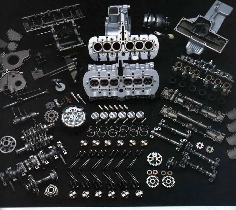 Honda rc162 rc 162 1961 250 four race motorcycle bike picture print - Honda Rc166 Engine
