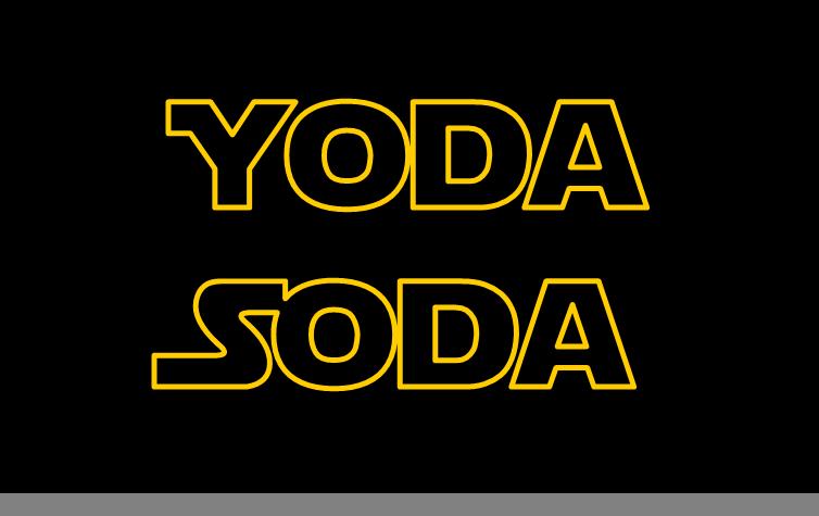 Yoda Soda   Star Wars birthday party ideas   Pinterest   Star wars birthday and Birthday party ideas