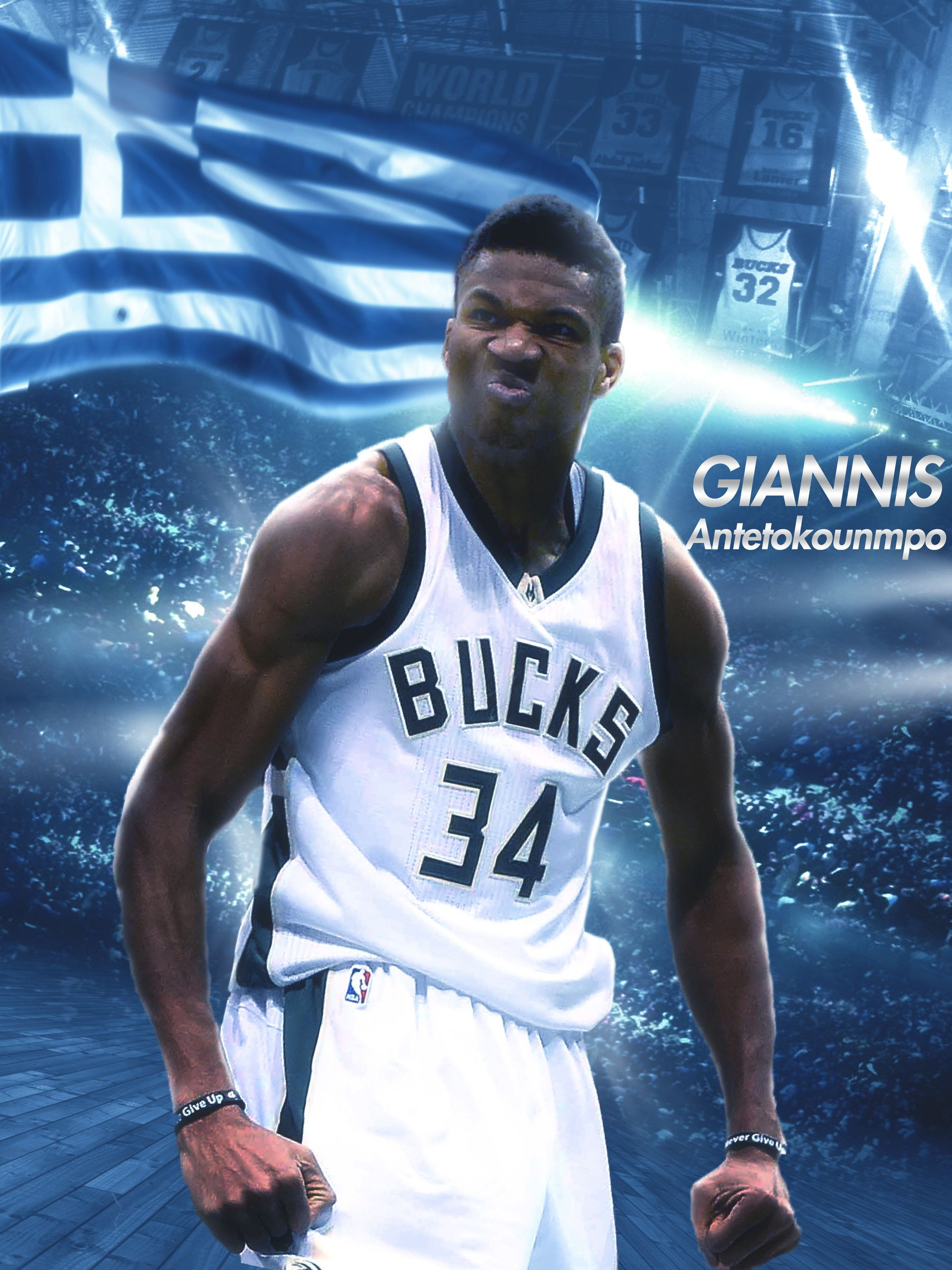 Giannis Antetokounmpo Gianni, Basketball uniforms design