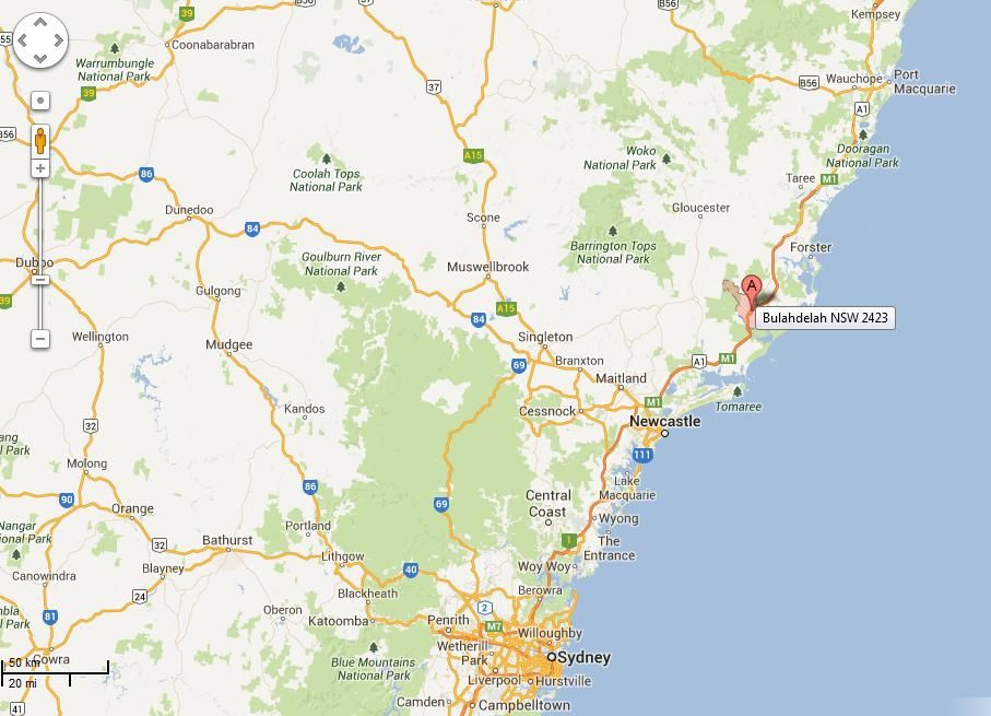 Cool Map Of Bulahdelah Travelquaz Pinterest Maps And Of - Liling map