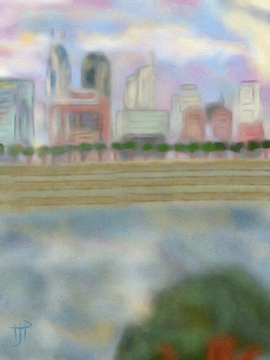 iPainting Nashville View