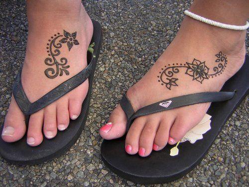 henna_full_10 | Henna tattoo fuß, Henna-tätowierung, Fuß henna