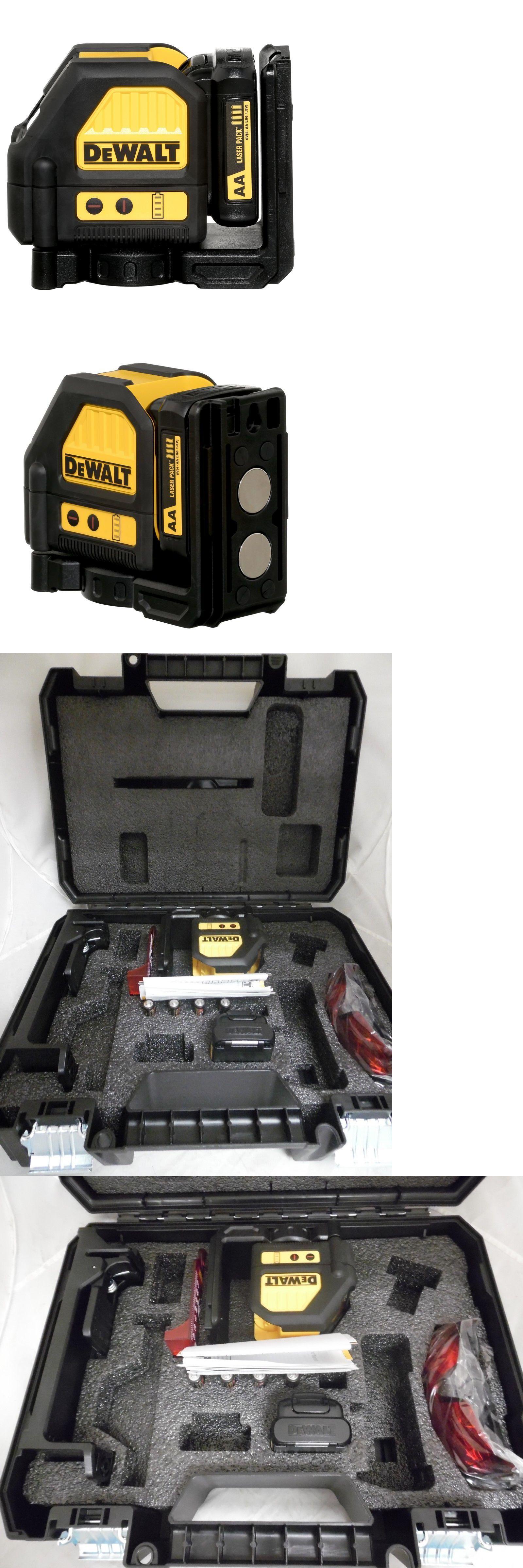 Laser Measuring Tools 126396 Dewalt Dw088lr 12v Cross Line Laser Red Buy It Now Only 159 99 On Ebay Laser Measuring Dewalt Measuring Tools Red Cross