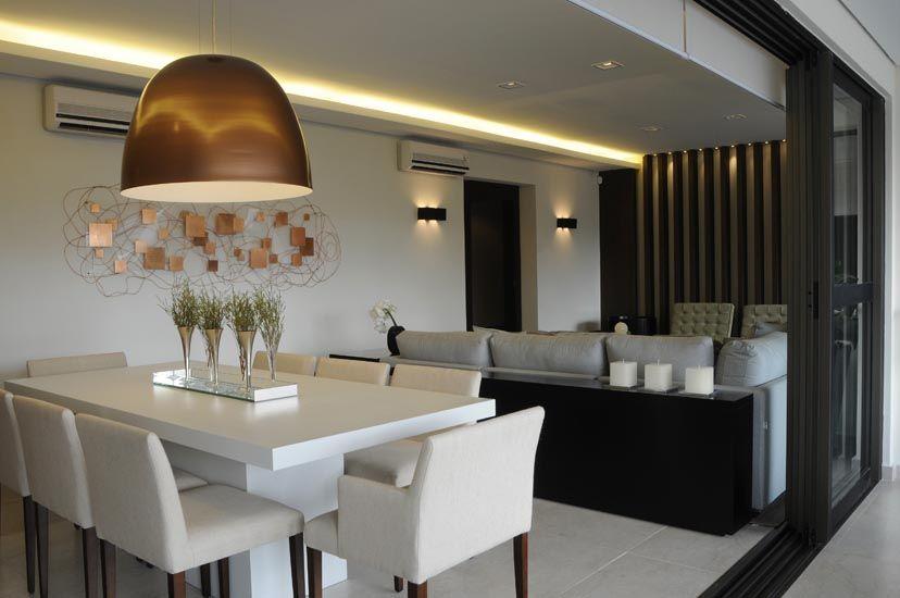 Sala de estar e jantar integradas pesquisa google casa for Sala de estar rustica y moderna