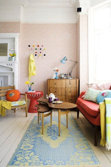 Clash Course - Living Room Furniture & Designs (houseandgarden.co.uk)