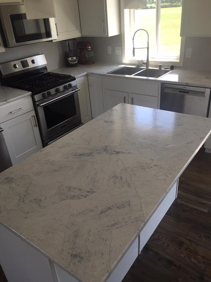 Resurfacing Laminate Kitchen Countertops - DIY. Painted ...
