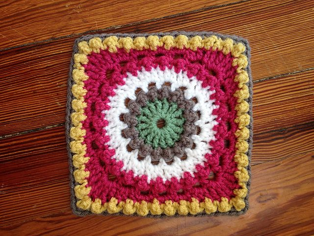 Circle of Friends Square pattern by Priscilla Hewitt | Granny Square ...