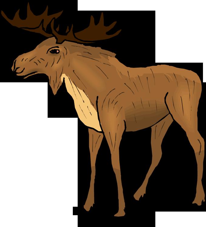 moose clipart ashley s baby shower pinterest moose free rh pinterest nz
