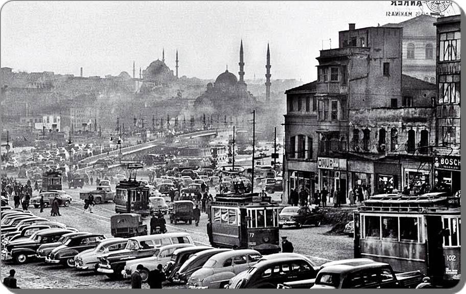 Karaköy - 1959   (Ara Güler)