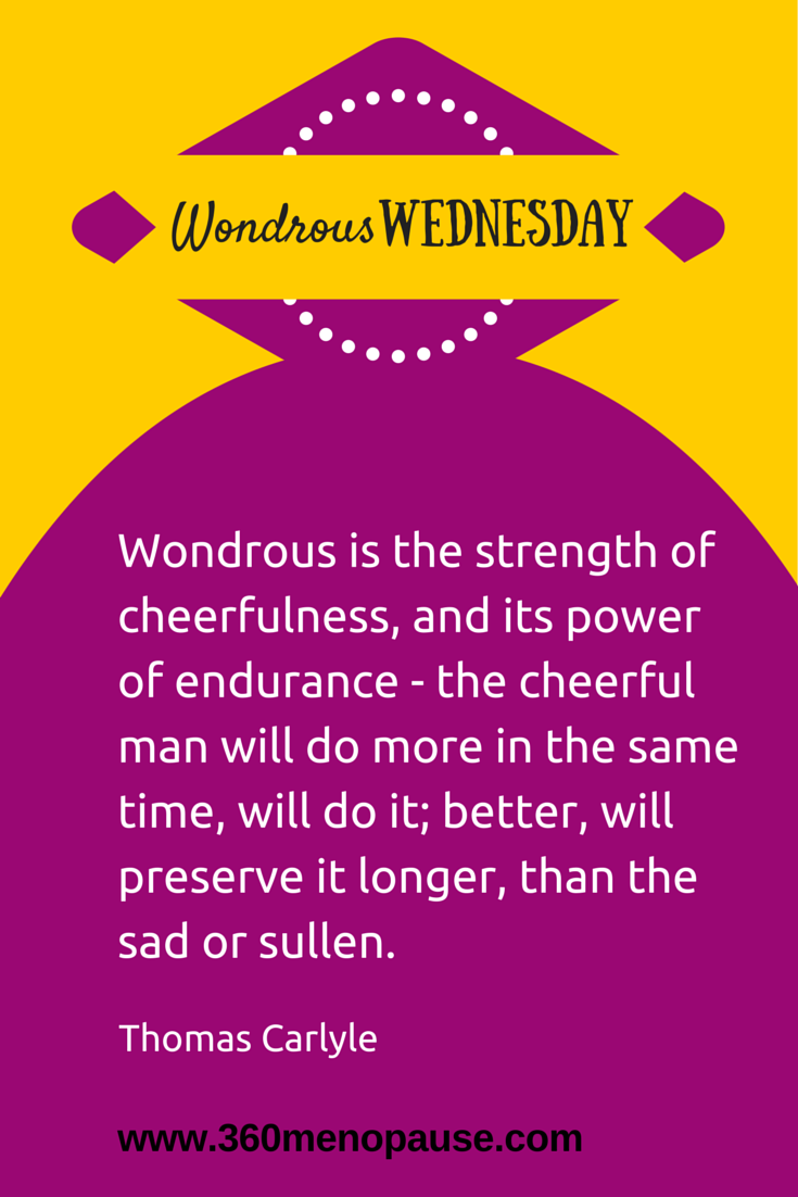 #WondrousWednesday