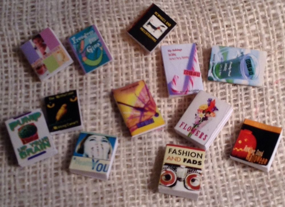 American Girl AG Mini's Illuma Room SET OF 12 BOOKS #AG