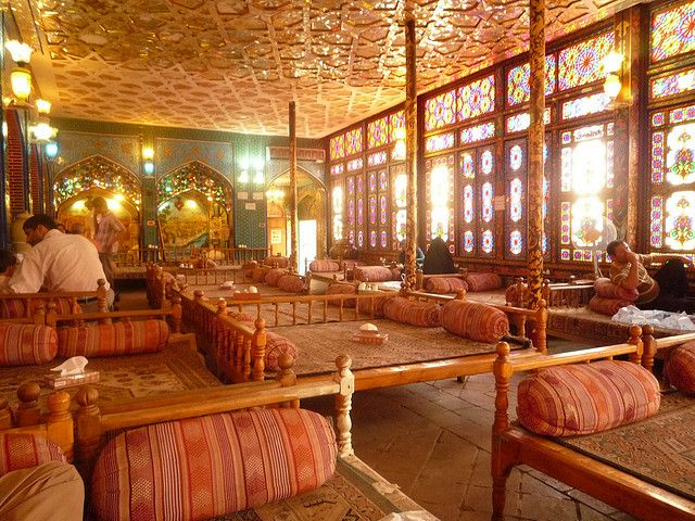 Traditional Tea House At Esfahan Central Iran With Images Tea