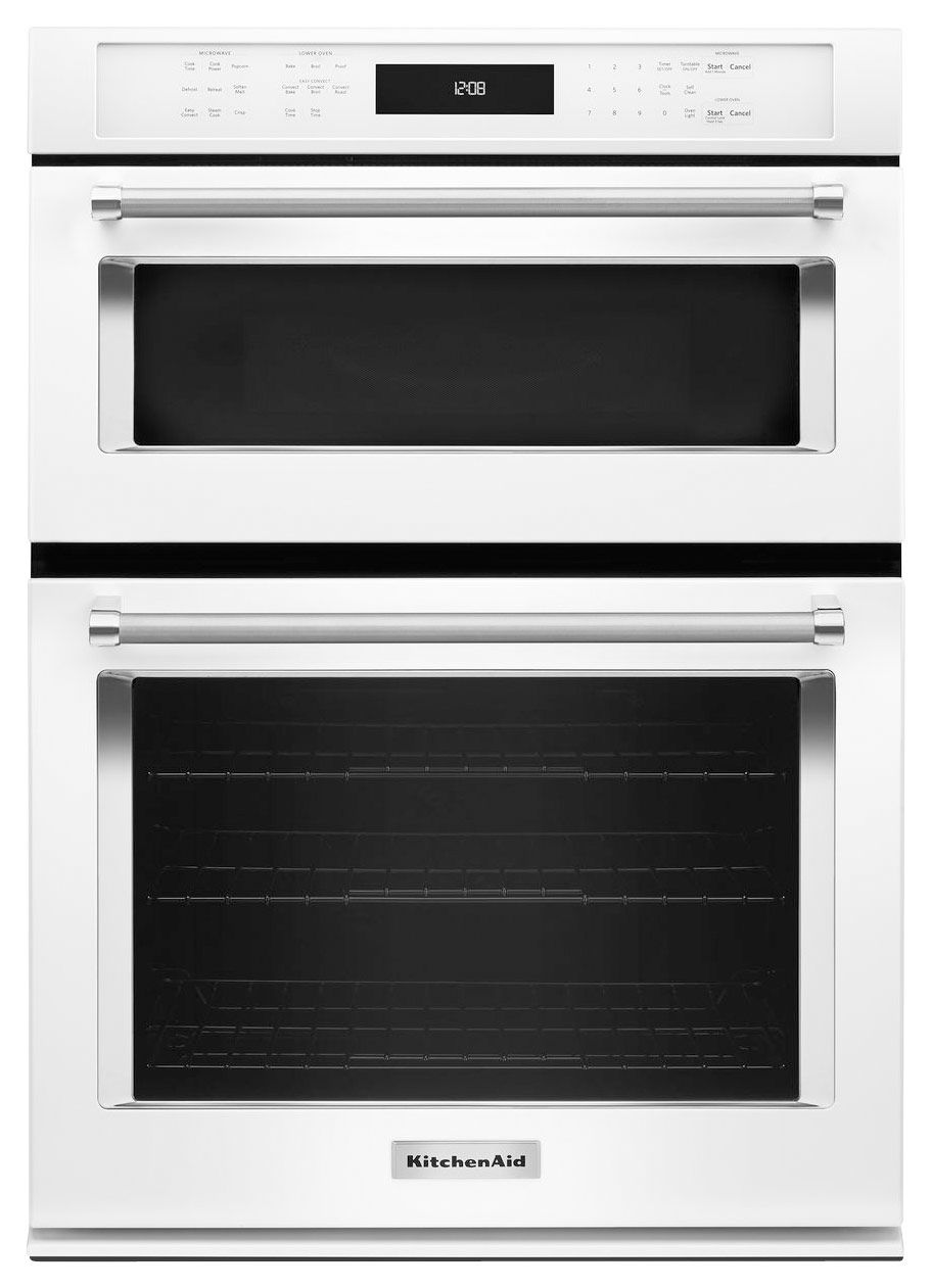 Kitchenaid 27 single electric convection wall oven with