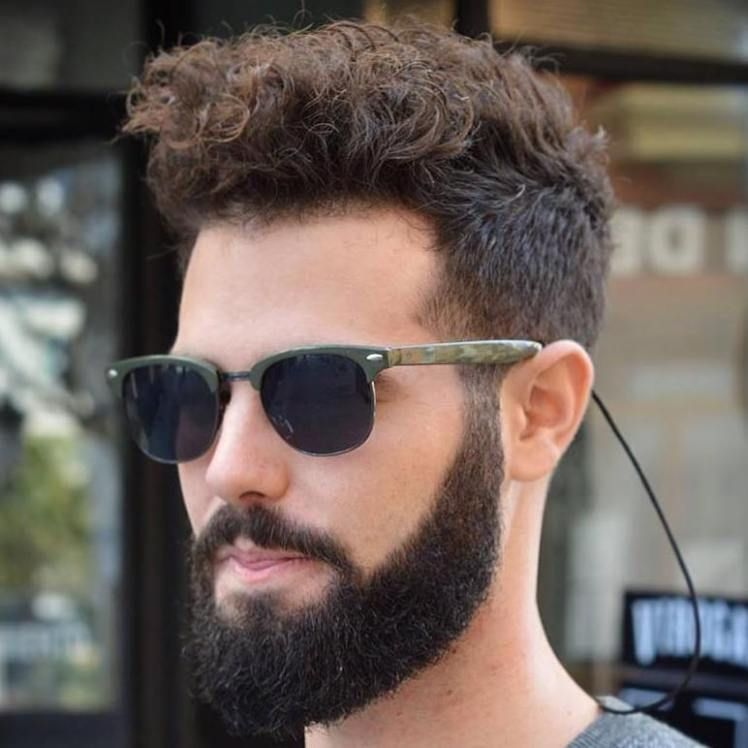 40 Statement Hairstyles For Men With Thick Hair Thick Hair Styles Haircut For Thick Hair Thick Curly Hair