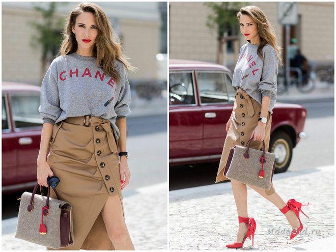 Новое лицо в street style – Alexandra Lapp. Модница 40