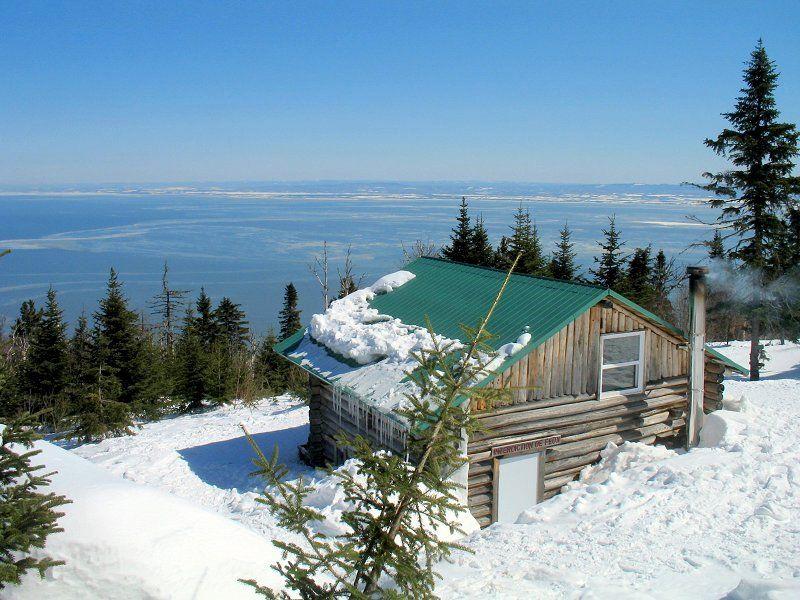 Snowshoeing to Ligori - Petite riviere St-Francois, Quebec