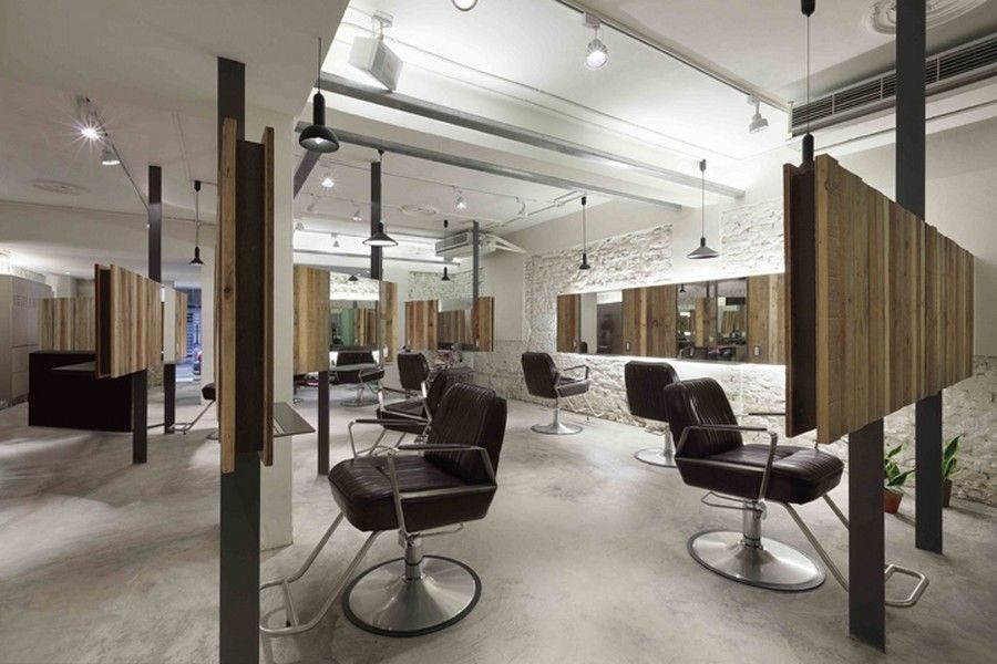 On Unique Concepts Of Hair Salon Interior Design With Looks Classic For