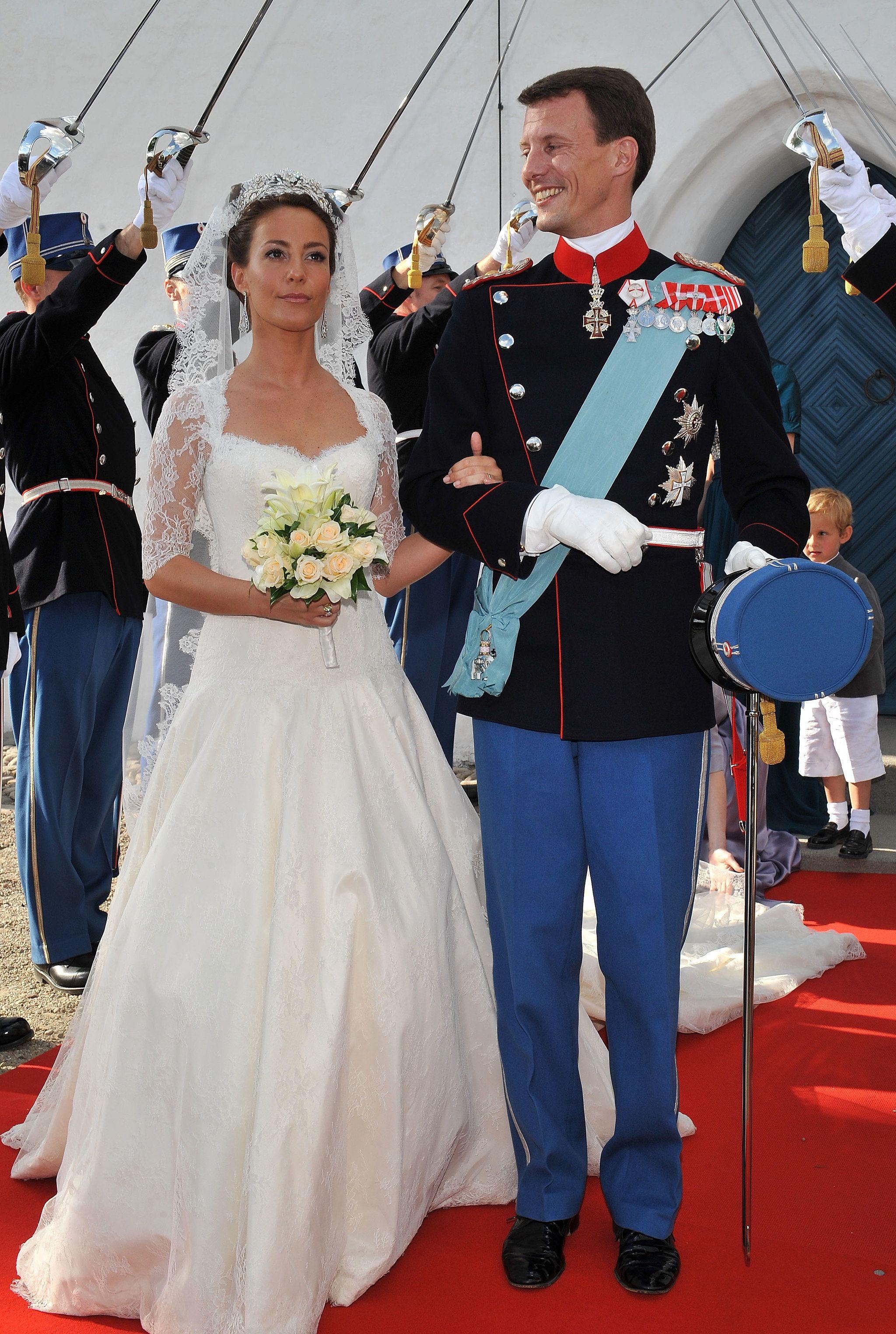 Princess Marie Of Denmark 2008 Royal Wedding Dress Princess Wedding Gown Princess Marie Of Denmark