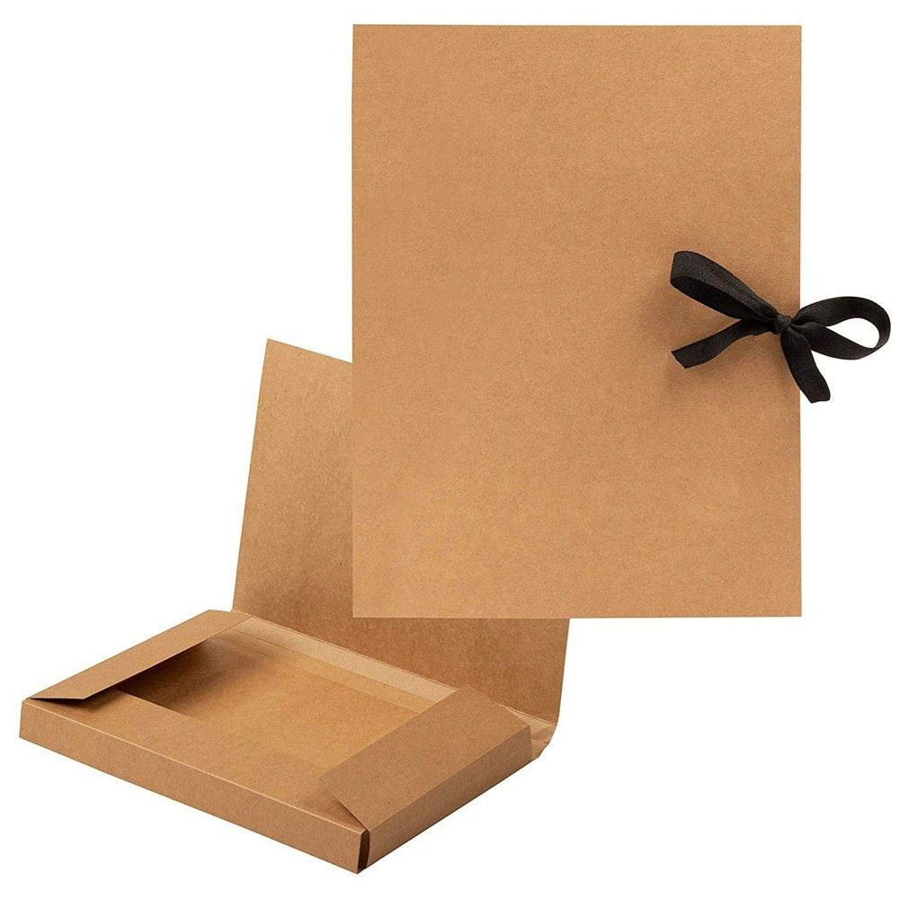 Package IncludesBrown Presentation Folders Bulk 12-Pack Letter Size Kraft File Folders x 1Item DescriptionBrown Presentation Folders Bulk 12-Pack Letter Size Kraft File FoldersBrown Presentation Folders Bulk – 12-Pack Letter Size Kraft File Folders with String, Portfolio Folder, Office Supplies for Catalogs, Brochures, Resume, 12 x 9.25 InchesSET INCLUDES: 12 folders in Brown, with strings at the closures to keep your documents secure and making it easy for storage.STAY ORGANIZED: Keep your docu