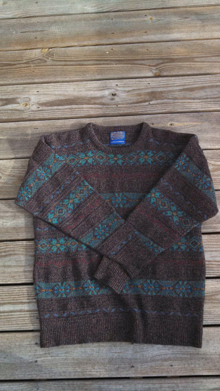 Pendleton - Vintage Wool Fair Isle Sweater | Sartorial - Wish List ...
