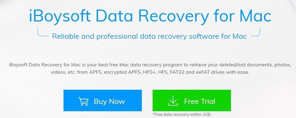 Free Mac Data Recovery Software Download To Recover Deleted Files