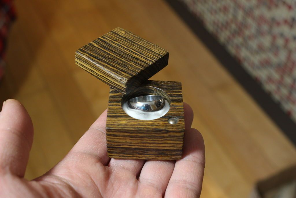 Making A Wooden Ring Box Wooden Rings Diy Wooden Rings