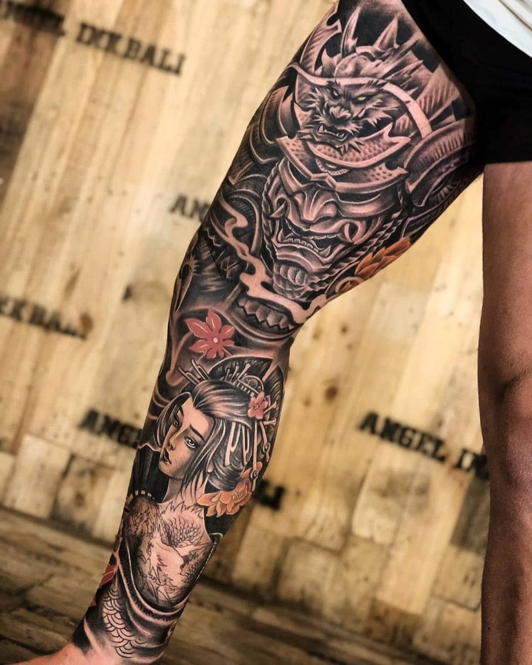 25 Unique Leg Tattoos For Men In 2020 Leg Tattoo Men Full Leg Tattoos Leg Sleeve Tattoo