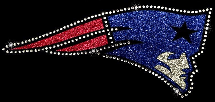 A personal favorite from my Etsy shop https://www.etsy.com/listing/472049276/nfl-new-england-patriots-glitter