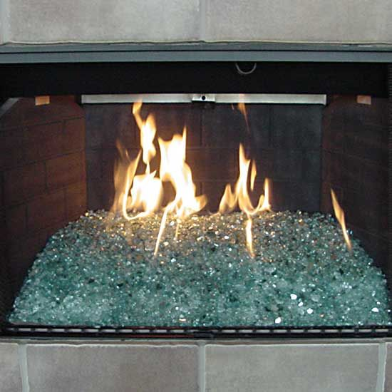 Diy Heatilator Gas Fireplace Conversion Fire Glass Rock With Picture Gallery Of Converted Natural Gas Fireglass