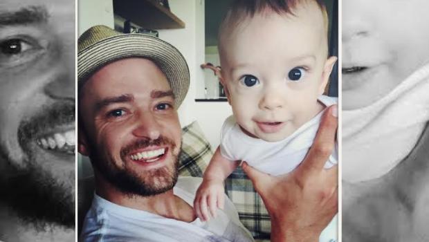 Justin Timberlake compartió fotografías de su hijo de cinco meses