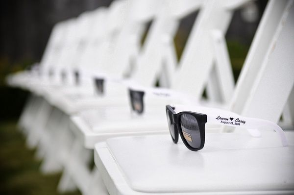 Love this idea for wedding favor - especially for an outdoor ceremony