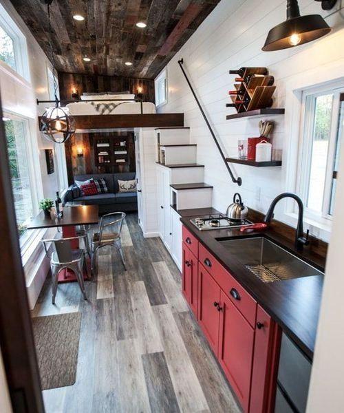 41 Luxuriöses kleines Haus-Design, das Sie haben müssen #tinyhousebathroom