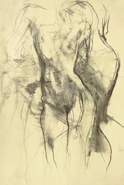 Saatchi Art Artist Ute Rathmann Drawing Nude Xii Art Ute