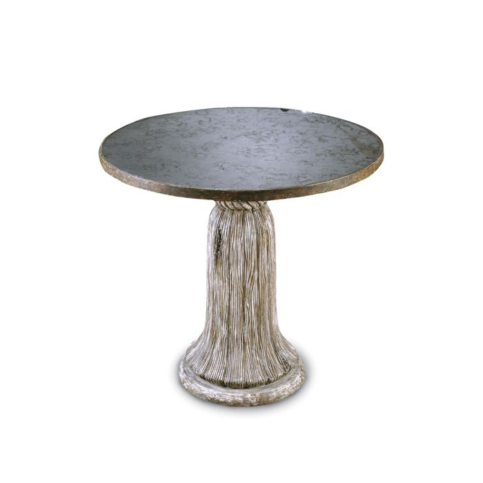 50 Cool And Creative Shabby Chic Dining Rooms: Bliss Studio TA-4158-C Tassel Table Round Dia 32 H 30
